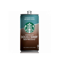 Starbucks Dubleshot No Added Suger