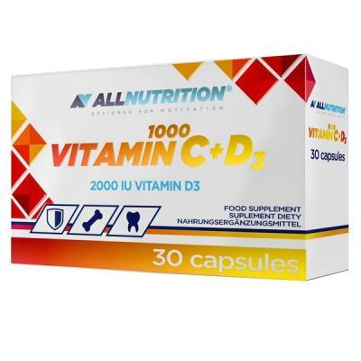 AllNutrition Vitamin C1000+D3