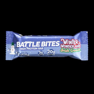 Battle Bites High Protein Bar Irish cream