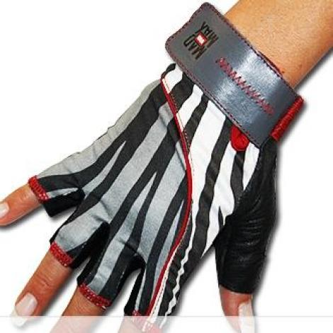 Mad Max Nine Eleven - Zebra Gloves
