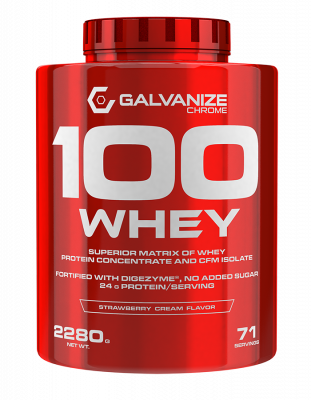 Galvanize Chrome 100 Whey